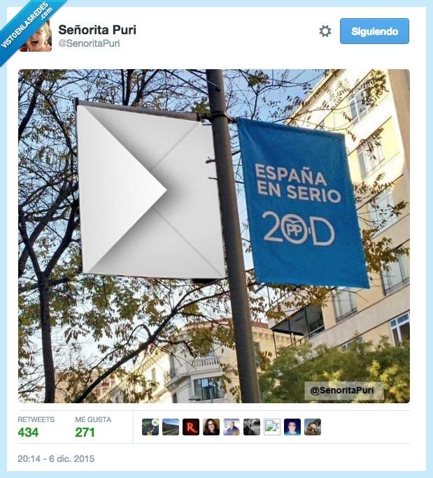diciembre,elecciones,España,partido popular,pp,serio,sobre
