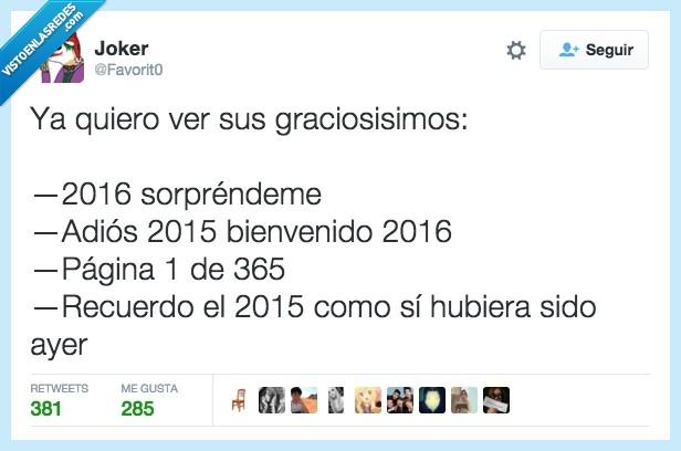2015,2016,año nuevo,frases típicas,graciosos,tonterías