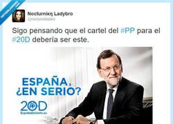 Enlace a El verdadero eslogan del PP por @nocturnidades