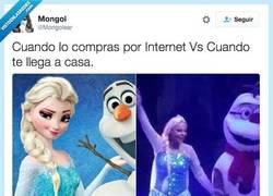 Enlace a La Elsa de aliexpress a la española por @Mongolear