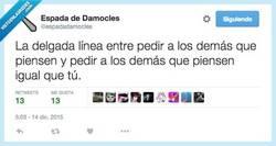 Enlace a Pensad, pero pensad lo que a mí me gusta por @espadadamocles
