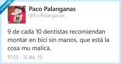 Enlace a Recomendado por los mejores dentistas en España por @FcoPalanganas