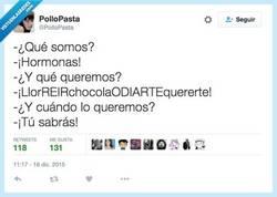 Enlace a Esos días del mes nos cambian por @PolloPasta