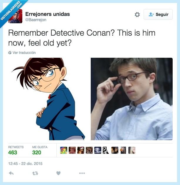 Conan,Detective,Errejon,Errejoniers como concepto