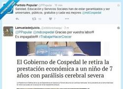 Enlace a Zasca al PP de Cospedal... por @eldolorestaaqui