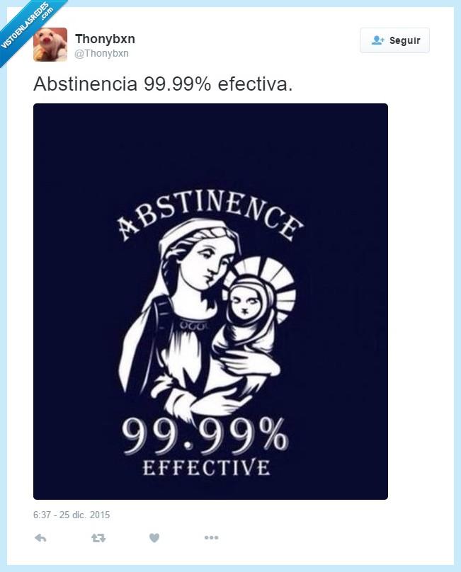 99,abstinencia,bebe,efectiva,efectividad,hijo,Jesús,María