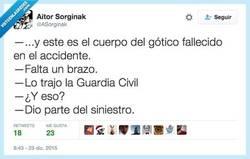 Enlace a Es el procedimiento policial estandard por @ASorginak
