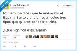 Enlace a María, no estoy yo muy seguro de tu sinceridad... por @LuanPalomera