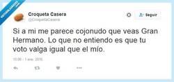 Enlace a Las cosas como son por @CroquetaCasera