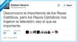 Enlace a ¡Y que vivan los Rayos Catódicos! por @EstebanNavarroS