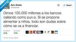 Enlace a ¿De dónde decís que sale el dinero? por @acoamas
