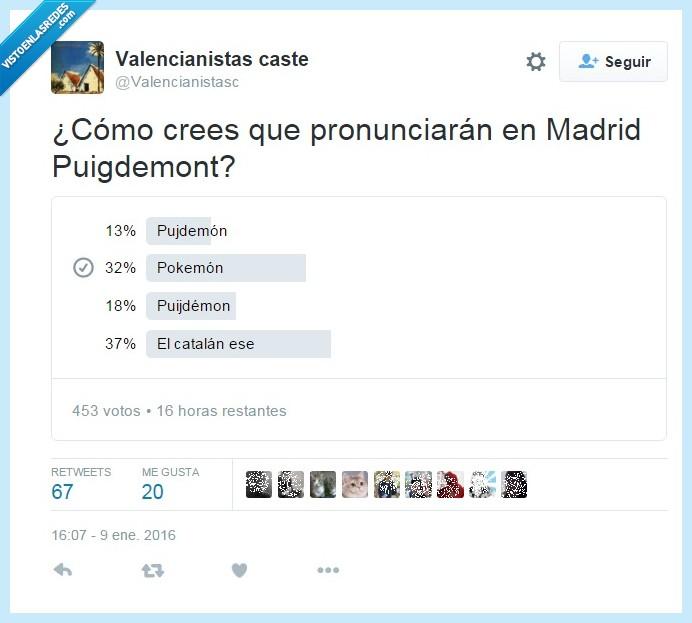 actualidad,Cataluña,parlamento,pronunciación,Puigdemont