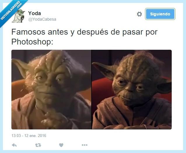 famosos,fotos,photoshop,revistas,star wars,yoda