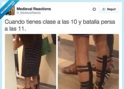 Enlace a Son unas sandalias muy versátiles, muy ponibles por @_MedievalReacts