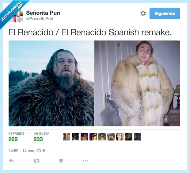 Kiko Rivera,Leonardo Dicaprio,Paquirrin,remake,renacido,spanish,the revenant