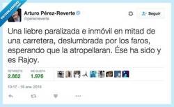 Enlace a La mejor descripción de Mariano Rajoy según @perezreverte