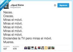 Enlace a Y no te enteras de lo uno ni de lo otro por @MiguelCaine