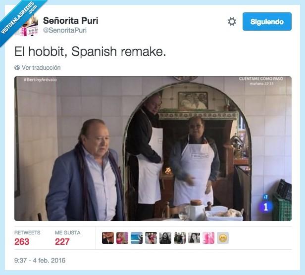 Arévalo,bajitos,Bertón Osborne,El Hobbit,programa,spanish remake