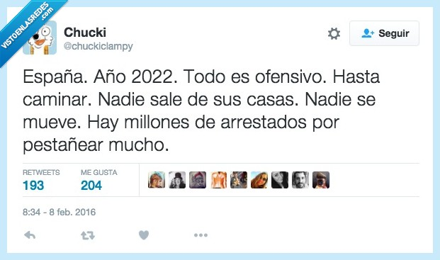 2022,carcel,españa,futuro,humor,millones,mucho,ofensa,ofensivo,pestañear