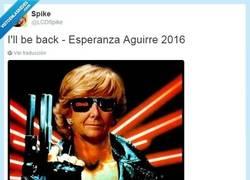 Enlace a Esperanza Aguirre siempre vuelve por @LCDSpike