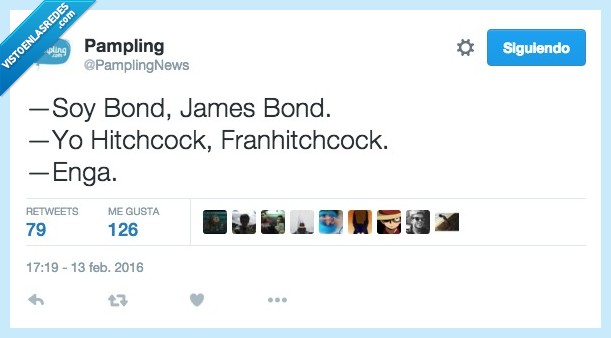 Francisco,Franhitchcock,Hitchcock,James Bond