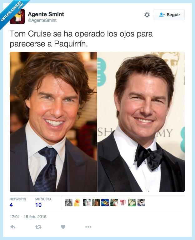 cara,Kiko rivera,operacion,Paquirrin,Tom Cruise