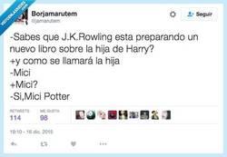 Enlace a La hija perdida de Harry Potter va a tener libro y se llama... por @jamarutem