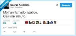 Enlace a Eh, y bien poco que me importa, tal cual te lo digo por @Mr_Kevorkian