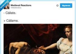 Enlace a Qué bonito es el amor, qué romántico por @Medievalico