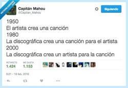 Enlace a La evolución de la música como producto por @Capitan_Mahou
