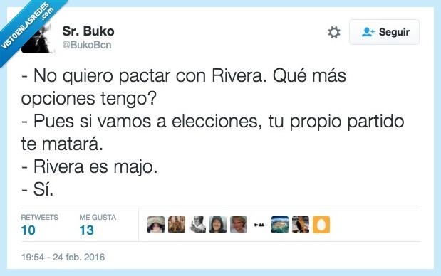 Albert Rivera,ciudadanos,interés,opciones,pactar,partido,Pedro Sanchez,politico,psoe