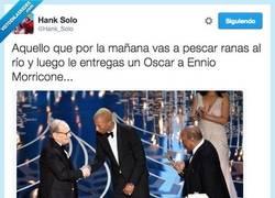 Enlace a Mucho se habla de Leo, pero el Maestro Enio Morricone sí que se lo merececía por @Hank_Solo