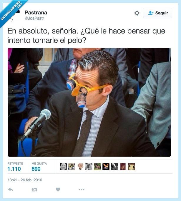 broma,gafas,juez,juicio,noos,ojos,pelo,tomar,Urdangarín