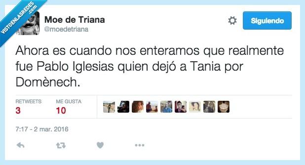 amor,beso,dejar,Domenech,PAblo Iglesias,Tania