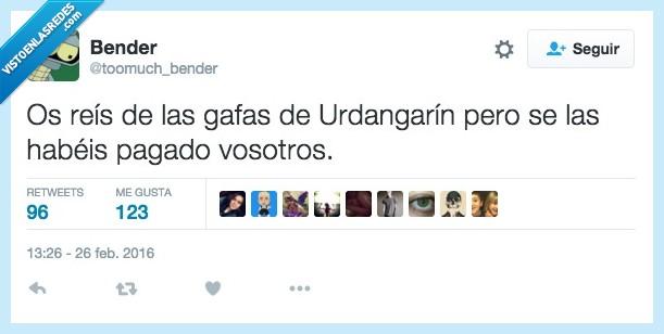 gafas,nosotros,pagar,reir,todos,Urdangarín,vosotros
