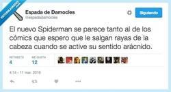 Enlace a Mi sentido arácnido me dice que... por @espadadamocles
