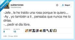 Enlace a Por el interés te quiero Andrés (o como se llame el jefe) por @subterroneo