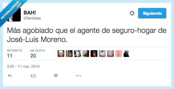 agente,agobiado,hogar,Jose luis Moreno,ladron,llamar,robar,robo,seguro