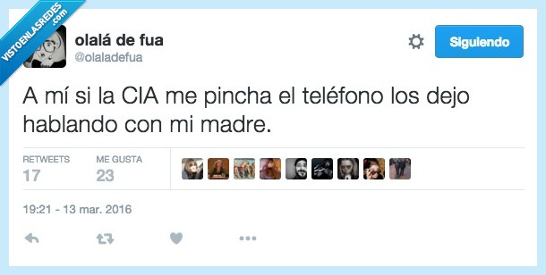 439768 - Si la CIA les da conversación, todo para ellos por @olaladefua
