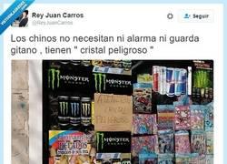 Enlace a Éste es un cristal muy peligroso, cuidado por @reyjuancarros