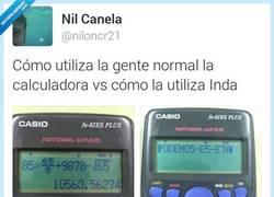 Enlace a La calculadora de Inda es como él por @niloncr21