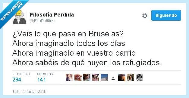 atentado,barrio,Bélgica,Bruselas,guerra,miedo,refugiado,todos los días
