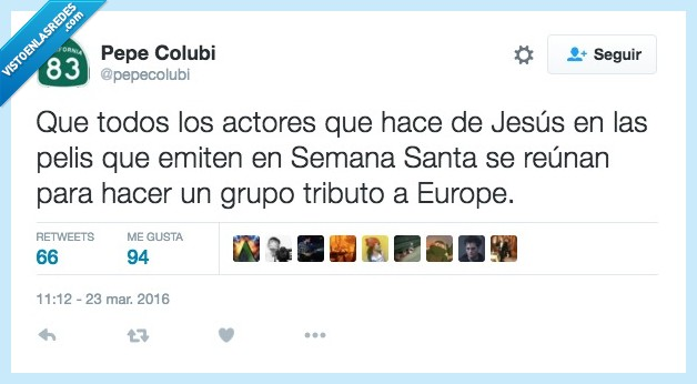 actor,Europe,jesus,pelazo,pelicula,pelis,Semana Santa,tributo