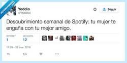 Enlace a Spotify sí que es un buen amigo... por @Yodddio