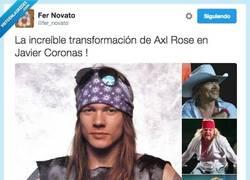 Enlace a Axl Rose se ha transformado en alguien que te aseguro que no te esperas por @fer_novato