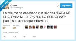 Enlace a Diciendo esto tienes inmunidad diplomática por @subiendoelpan