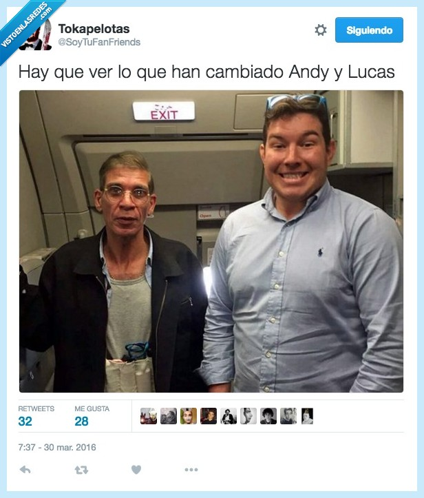 andy y lucas,avion,foto,secuestrador,secuestro