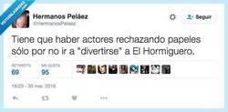 Enlace a Mira, oye, que prefiero estar en paro por @HermanosPelaez