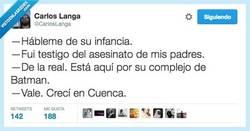 Enlace a Necesita usted ser sincero conmigo por @CarlosLanga