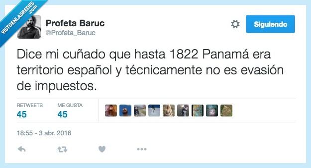cuñado,España,español,evasion,impuestos,Panamá,panama papers,territorio